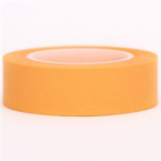 solid golden yellow Washi Masking Tape deco tape