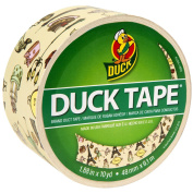 Patterned Duck Tape 4.8cm X10yd-Paris