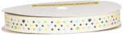 polka dot NC-37 and nico-nico days cotton print tape 15mm width 10m reel star