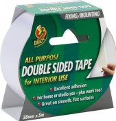 Duck Double Sided Interior Tape - 38 mm x 5 m