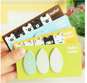 Affe 4pcs Cute Forest story Notepad / sticky note / message post