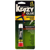 Instant Krazy Glue For Wood & Leather-.210ml