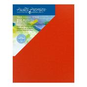 Pastel Premier Sanded Pastel Paper Conservation Panel, Medium Grit, 28cm x 36cm , Terracotta, 1 Package of 2 Panels