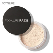 Oil Control Loose Powder , Mumustar Long Lasting Loose Finishing Powder Translucent Highlight Flawless Prevent Makeup Fading