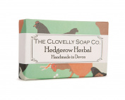 Clovelly Soap Co Natural Handmade Comfrey Lavender & Nettle Soap Bar For All Skin Types 100g