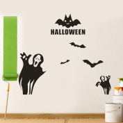 OverDose Halloween Stickers Home Household Mural Decor Decal PVC Wall Sticker 70 x 60cm