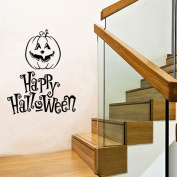 OverDose Halloween Stickers Home Household Mural Decor Decal PVC Wall Sticker 55 x 71cm