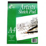 A4 Artists Sketching Pad - 80 sheets of quality 80gsm Drawing Paper