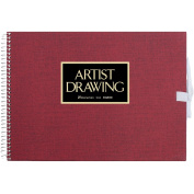 ARTIST MEDALLION F1 Sketchbook For Watercolour - Red