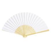 Folding Fan Paper Fan Hand Painted Plain Colour Fan