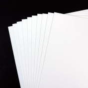 10 Sheets Pack - A4 Cartridge Paper 140gsm - Acid Free - All-Media - Ideal for Students and Professional Artists
