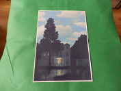 Empire of Lights by Magritte A4 size printed on 230gsm photo quality paper