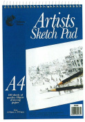 Artists A4 Sketch Pad Wiro Bound - 80 Sheets