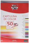 Fixo 11110374 – A4 Card, Pack of 50, Dark Grey Colour