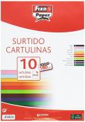 Fixo 11080199 – Pack of 10 Cards, 24 x 32 cm, Multi-Colour