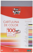 Fixo 11110474 – A4 Cardstock, Pack of 100 sheets, Dark Grey Colour