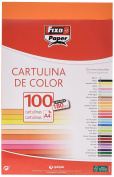Fixo 11110452 – Pack of 100 Card, A4, Orange