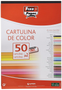 Fixo 11110310 – Pack of 50 sheet of cardstock, A4, Black