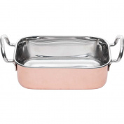 Mini Casserole Dish Dip & Side 13x13 cm Dip Bowl Dishes Mini Bowls Stainless Steel