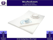 1200 x SHEETS OF WHITE NEWS OFFCUTS WRAPPING PAPER - WHITE ART PACKING PAPER 500MM x 750MM *** NEXT DAY UK DELIVERY *** VISIT Our Exciting Amazon Packaging Catalogue - Search _ Wellpack Europe