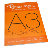 GraphicPro Trace Pad A3 90gsm