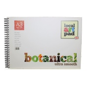 Local Art Pad Botanical Ultra Smooth Watercolour paper Ht Pressed 300gsm (60kg)