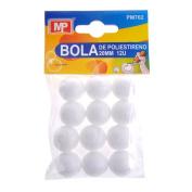 MP PM702 Polystyrene Balls – Pack of 12, 20 mm