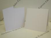 20 x Watercolour White Single Fold 280gsm Cards 18cm x 18cm Cardmaking AM265