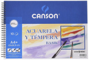 Guarro Canson 822647 A4 370 g Notepad of 10 Pages
