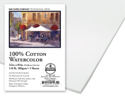 Bee Paper 100% Rag 140# Cold Press Watercolour Paper Pack, 60cm by 80cm , 5 Sheets per Pack