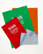 Frisk Student Graph Pad A4 50 Leaves (Red Cover) - Grid size 2, 10 & 20mm