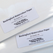 Bockingford Artists Hot Pressed WaterColour Paper A3 Pack 20 Sheets 300g Curtisward Pack