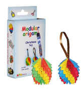 Modular Origami 2 x 90-Piece Small Christmas Toy Paper Set, Multi-Colour