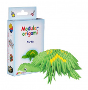 Modular Origami 234-Piece Small Turtle Paper Set, Multi-Colour