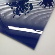 1.5mm Blue Gloss/Matt HIPS Sheet A6 148 x 105 High Impact Polystyrene Styrene Sheet