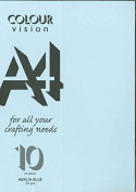 Merlin Blue A4 Craft Card 225 gsm Sealed Pack of 10