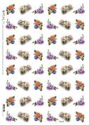 Accademia del Decoupage 32 x 45 cm Rice Paper, Mini Roses