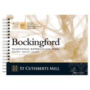 Bockingford Pad : SPIRAL : 23cm x 30cm : 60kg (300gsm) Rough : 12s