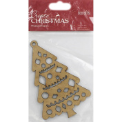 Docrafts Create Christmas Wooden Shapes - Christmas Tree