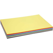 Coloured kraft card, A2 42x60 cm, 180 g, asstd colours, 300asstd sheets