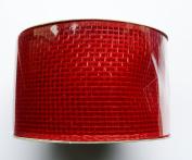 Eleganza No.16 Deco Mesh, Red, 63 mm x 10 m