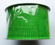 Eleganza Lime No.14 Deco Mesh, Green, 63 mm x 10 m