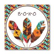 actua-concept ac1017 Boho Canvas Multi-Coloured 55x55x5 cm
