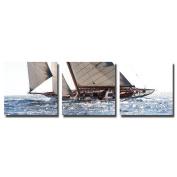 actua-concept tf176750cct Classic Yacht Canvas Multi-Coloured 55x55x12 cm