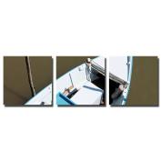 actua-concept af311140cct Boat Canvas Multi-Coloured 45x45x12 cm