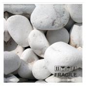 actua-concept af379xxl White Pebbles Canvas Multi-Coloured 105x105x5 cm