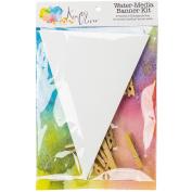 Canvas Ken Oliver Water-Media Banner Kit, Multi-Colour