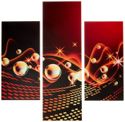 Group Asir LLC 251TRE1900 Three Art Decorative Painting MDF, Multi-Colour