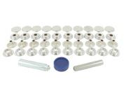 BP 850-6 Brass Nickel Press Stud Fastener Repair Kit for Fabric to Fabric Application