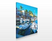APALIS Assorted Designs Canvas Picture 70 x 70 cm, Puerto Andratx in Mallorca, 70 x 70